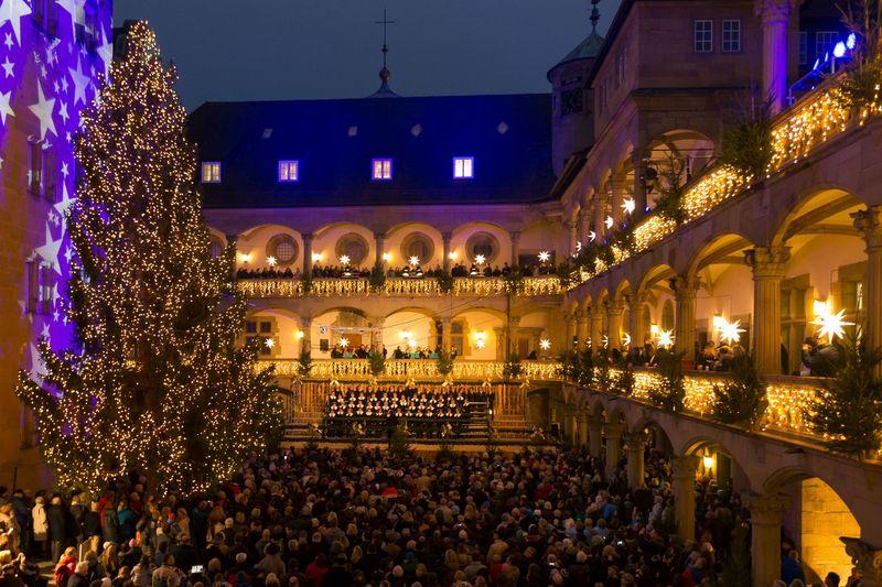 Eröffnung Weihnachtsmarkt Stuttgart 2019.Feierliche Eröffnung Des Weihnachtsmarkts Stuttgarter