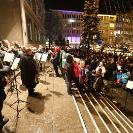 Konzerte Rathaustreppe